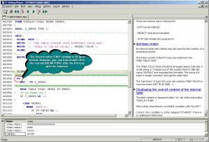 ABAP Program flow within the CT-Debug_Simulator ...