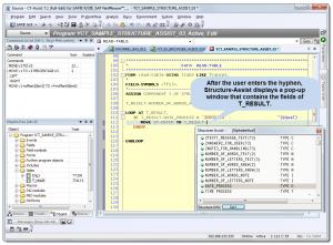 Screenshot: Structure_Assistant
