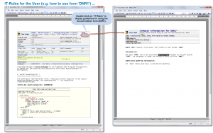 IT-Rules for the User (e.g. how to use form 'DNR1').
