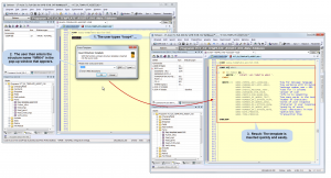 Screenshot: Template_Assistant